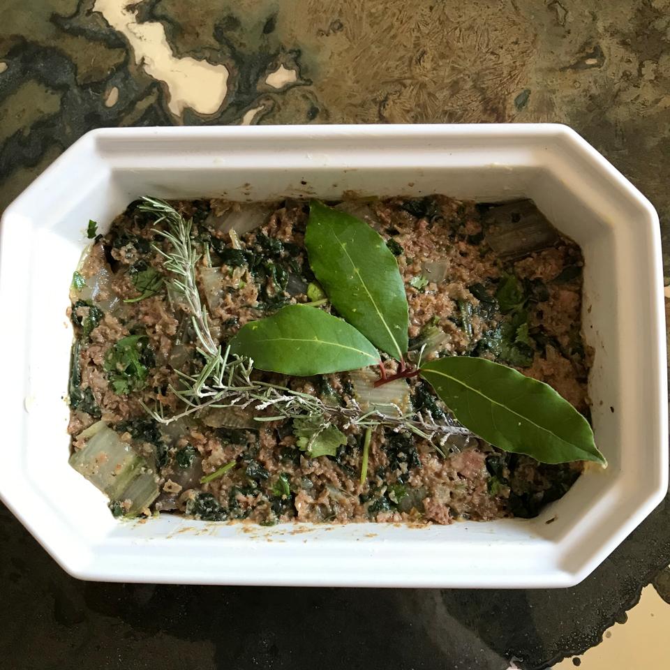 Javade Gourmandise : recette du pounti ou terrine verte